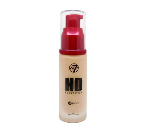 W7 Make-Up HD Foundation - Early Tan - Foundation