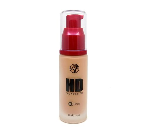 W7 Make-Up HD Foundation - Natural Beige - Foundation