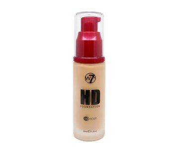 W7 Make-Up HD Foundation - Sand Beige