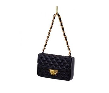 Vondels Kerstbal - Black Fashion Bag