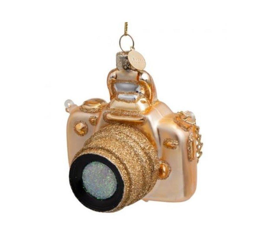 Kerstbal - Golden Camera