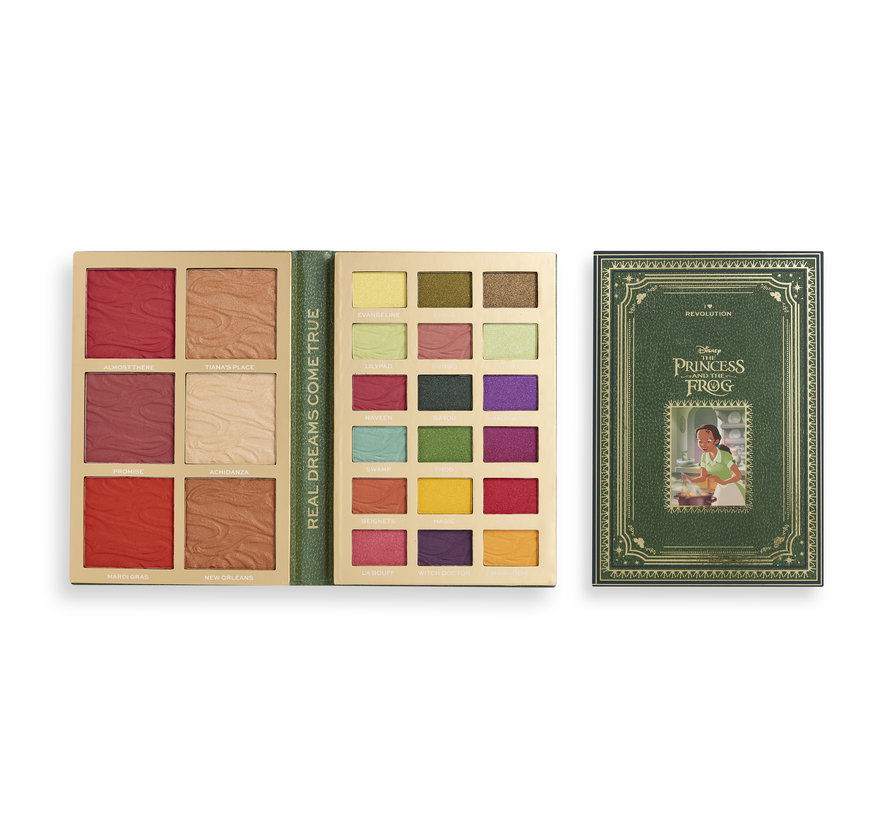 x Disney Storybook - Tiana Palette