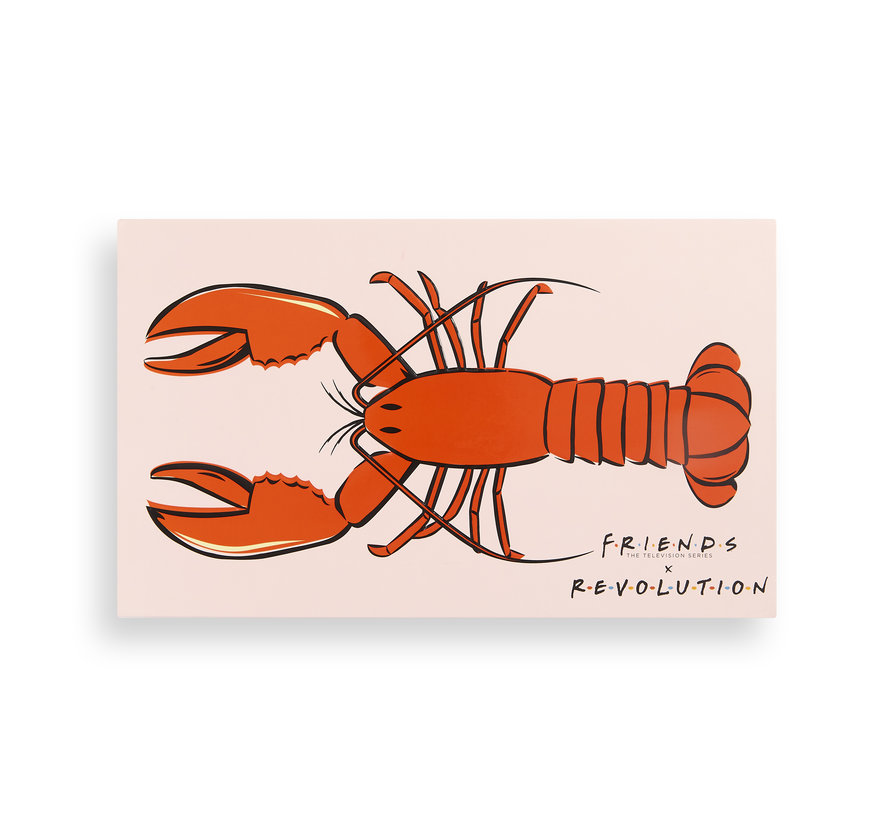X Friends - He's Her Lobster Palette