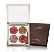 NABLA Ruby Lights Glitter Palette