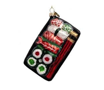 Vondels Kerstbal - Sushi Plate