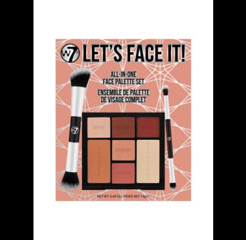 W7 Make-Up Let's Face It! Gift Set