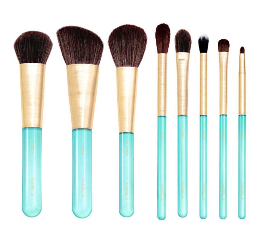 Aquamarine Essential Brush Set