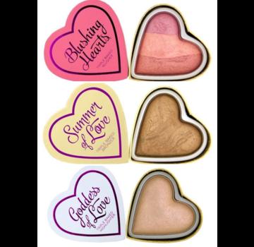 I Heart Revolution Hearts Bundel