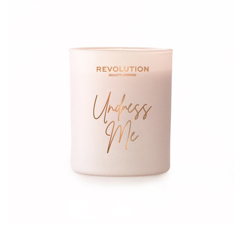 Makeup Revolution Scented Candle - Undress Me