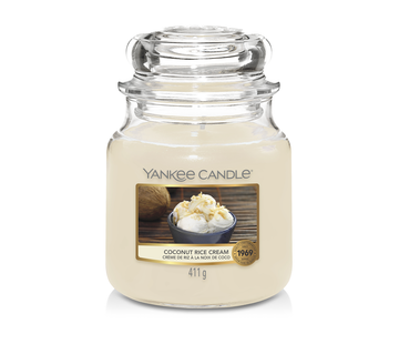 Yankee Candle Coconut Rice Cream - Medium Jar