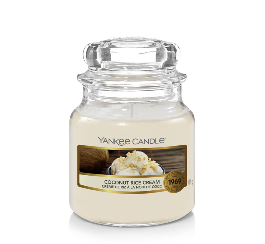 Coconut Rice Cream - Small Jar