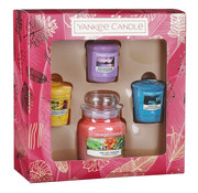Yankee Candle The Last Paradise 3 Votive & 1 Small Jar Gift Set