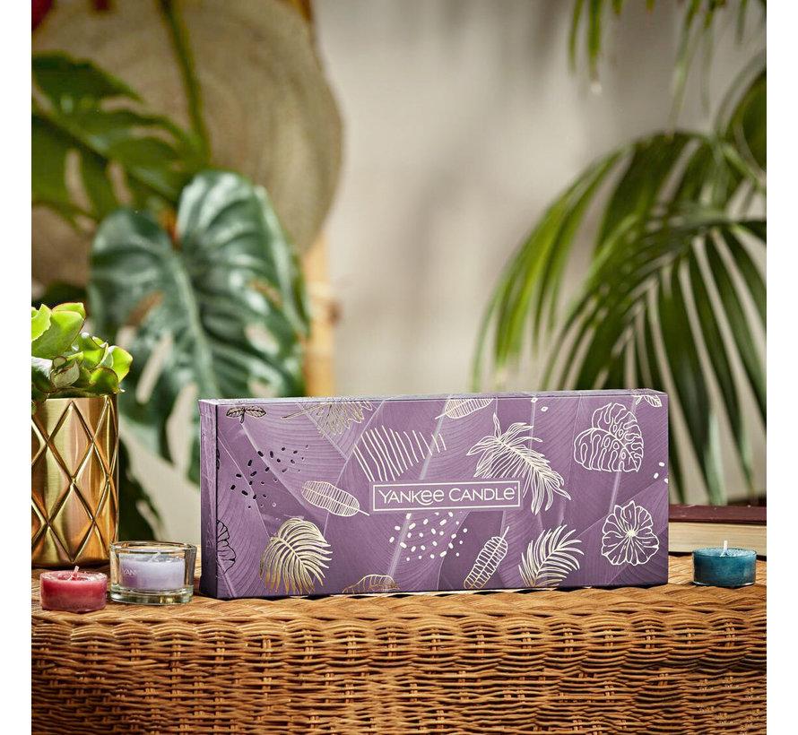 The Last Paradise 10 Tea Lights & 1 Holder Gift Set