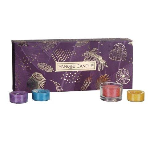 Yankee Candle The Last Paradise 10 Tea Lights & 1 Holder Gift Set