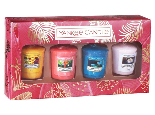 Yankee Candle The Last Paradise 4 Votive Gift Set