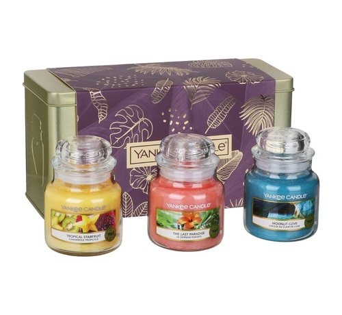 Yankee Candle The Last Paradise 3 Small Jar Gift Set