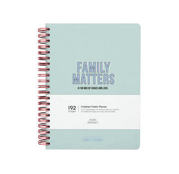 Studio Stationery Planner - Family Planner
