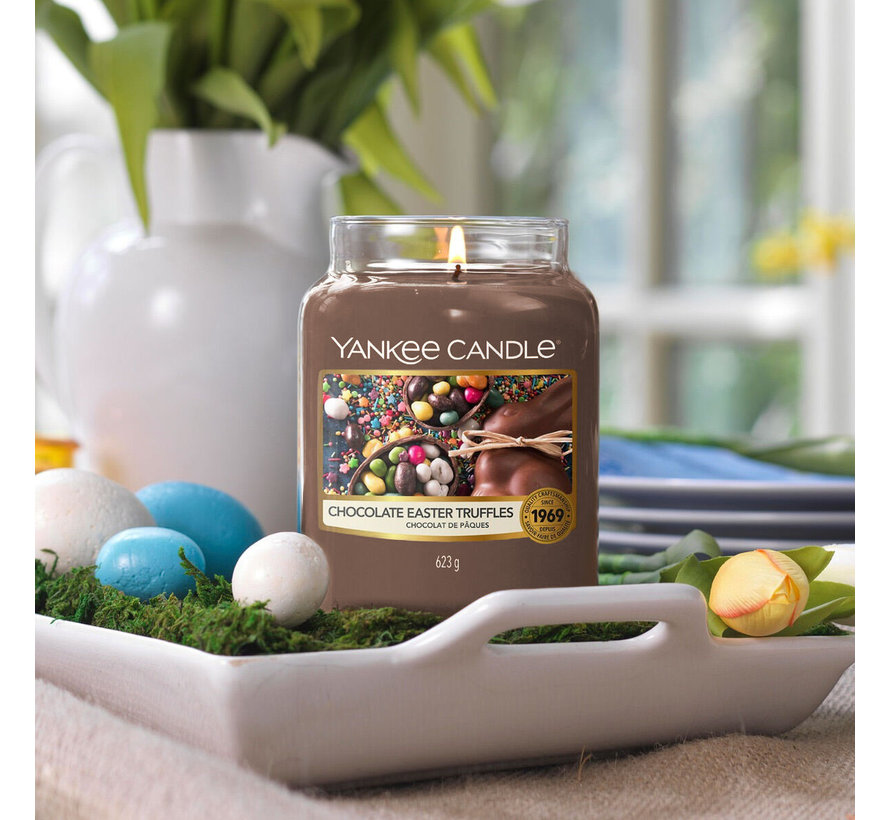Chocolate Easter Truffles - Special Large Jar
