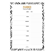 Studio Stationery Weekly Plan Black & White - A4 Planner