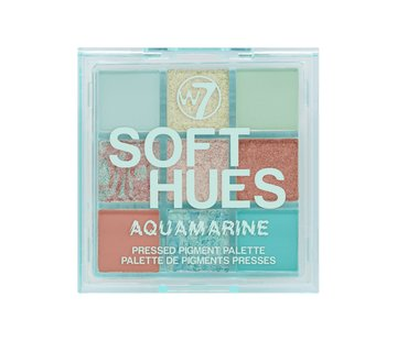 W7 Make-Up Soft Hues Palette - Aquamarine