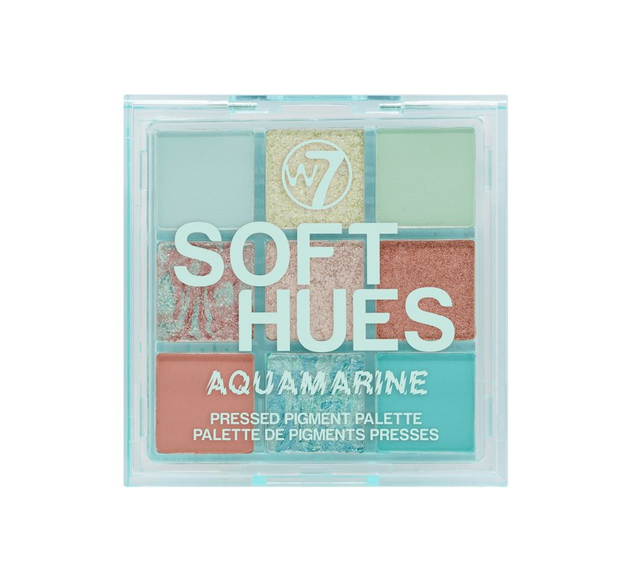 Soft Hues Palette - Aquamarine
