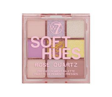W7 Make-Up Soft Hues Palette - Rose Quartz