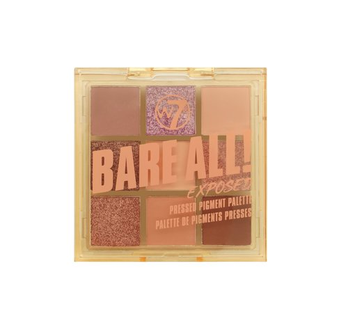 W7 Make-Up Bare All Palette - Exposed