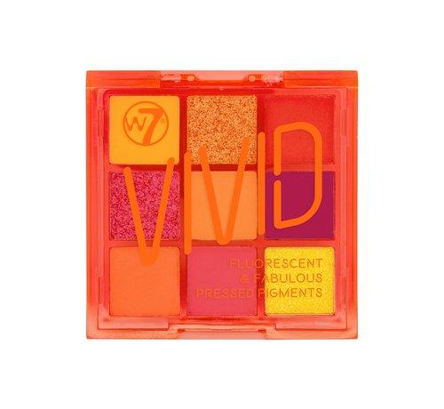 W7 Make-Up Vivid Palette - Outrageous Orange