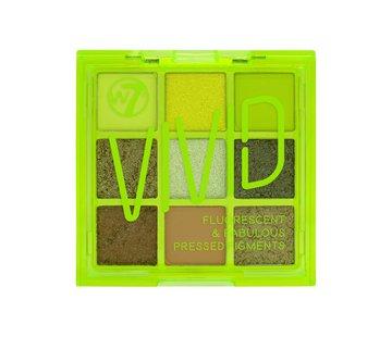 W7 Make-Up Vivid Palette - Glowin' Green