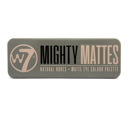 W7 Make-Up Mighty Mattes Palette