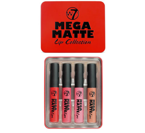 W7 Make-Up  Mega Matte Lips Gift Set
