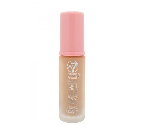 W7 Make-Up It's Glowtime Foundation - Almond Glow