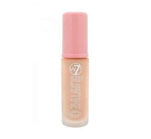 W7 Make-Up It's Glowtime Foundation - Ivory Glow