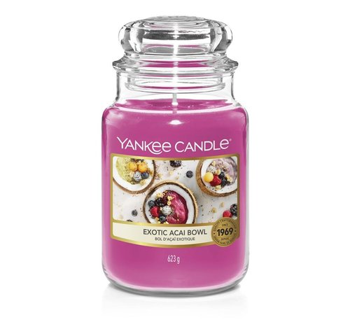 Yankee Candle Exotic Acai Bowl - Large Jar