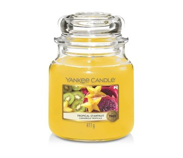 Yankee Candle Tropical Starfruit - Medium Jar
