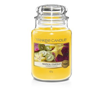 Yankee Candle Tropical Starfruit - Large Jar