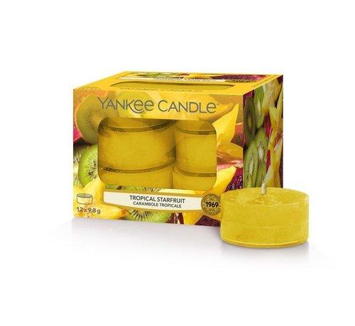 Yankee Candle Tropical Starfruit - Tea Lights