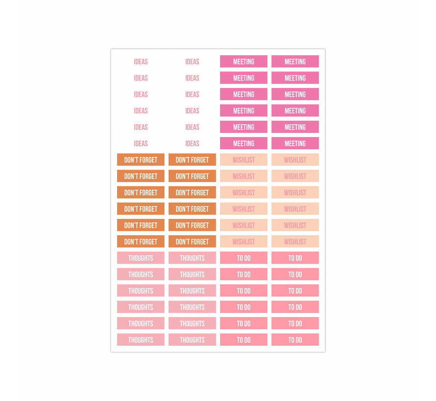 Stick it Stickerbook - Pink