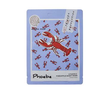 Makeup Revolution X Friends - Phoebe Pineapple Sheet Mask