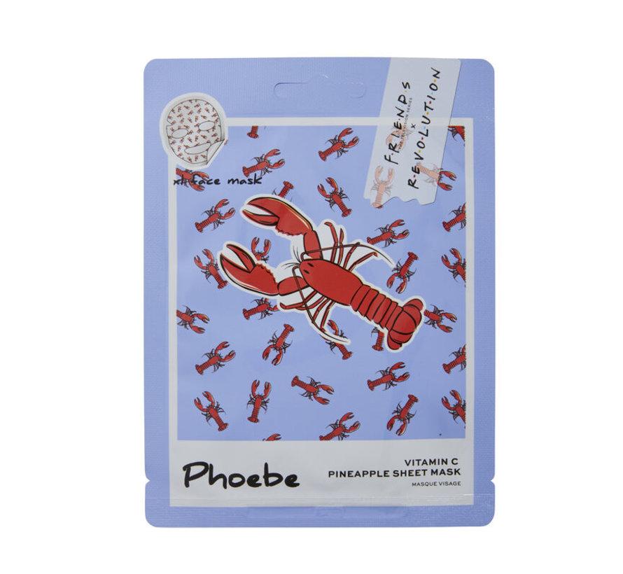 X Friends - Phoebe Pineapple Sheet Mask