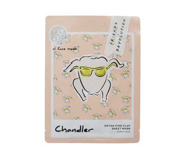 Makeup Revolution X Friends - Chandler Pink Clay Sheet Mask