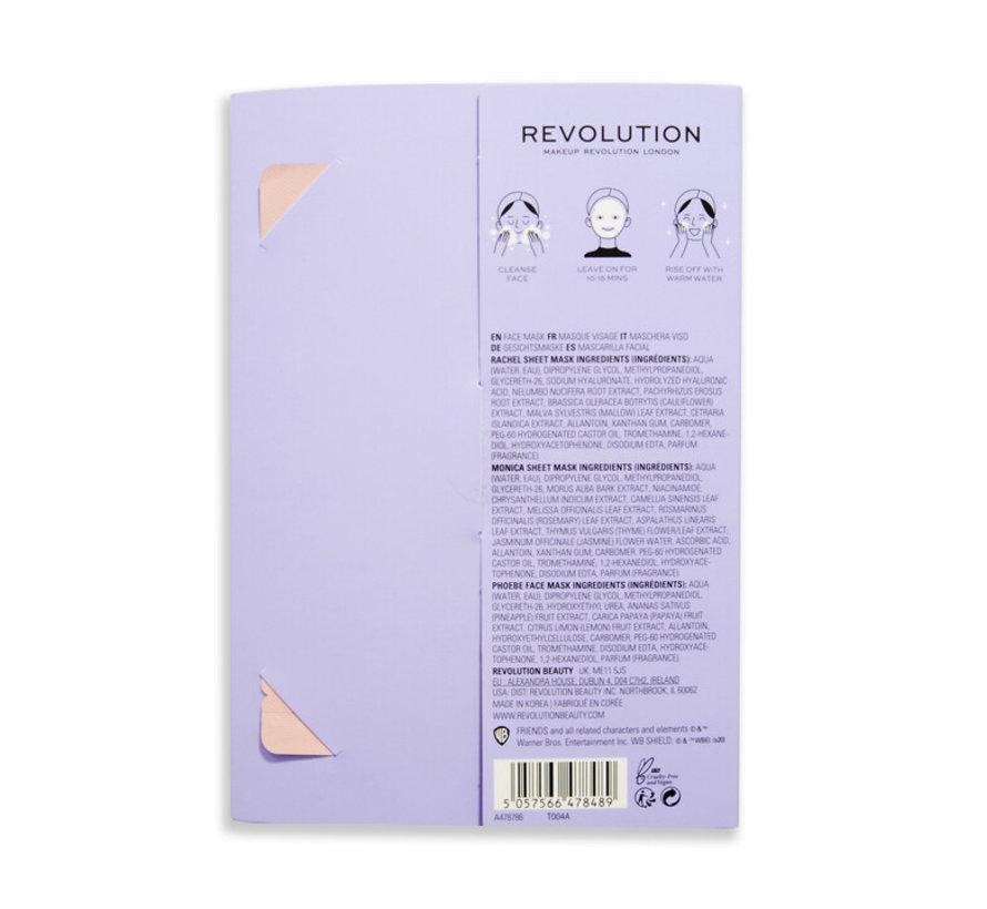 X Friends - Female Sheet Mask Set