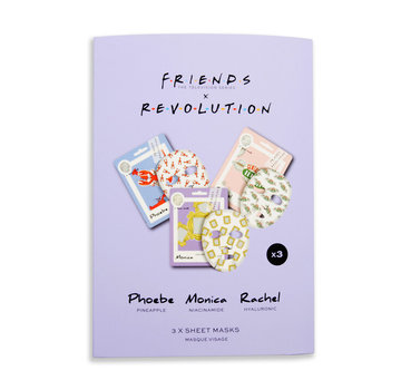 Makeup Revolution X Friends - Female Sheet Mask Set