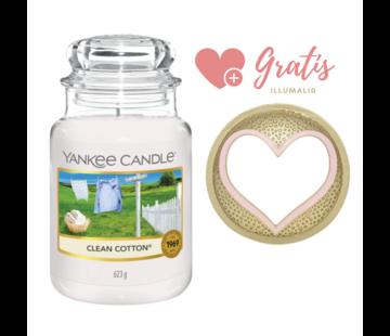 Yankee Candle Clean Cotton - Large Bundle