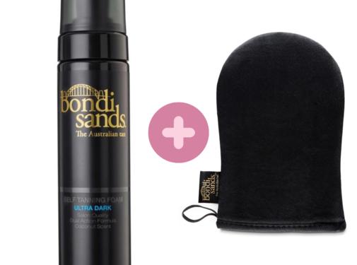 Bondi Sands Bundle - Self Tanning Foam Ultra Dark & Mitt