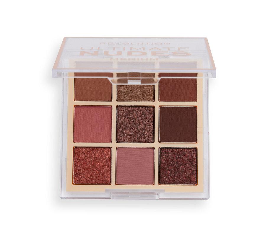 Ultimate Nudes Eyeshadow Palette - Medium