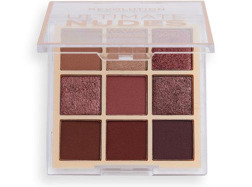 Makeup Revolution Ultimate Nudes Eyeshadow Palette - Dark