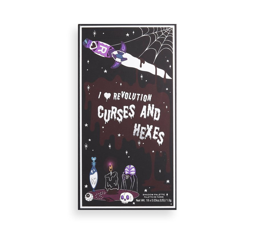 Book of Spells Palette - Curses And Hexes