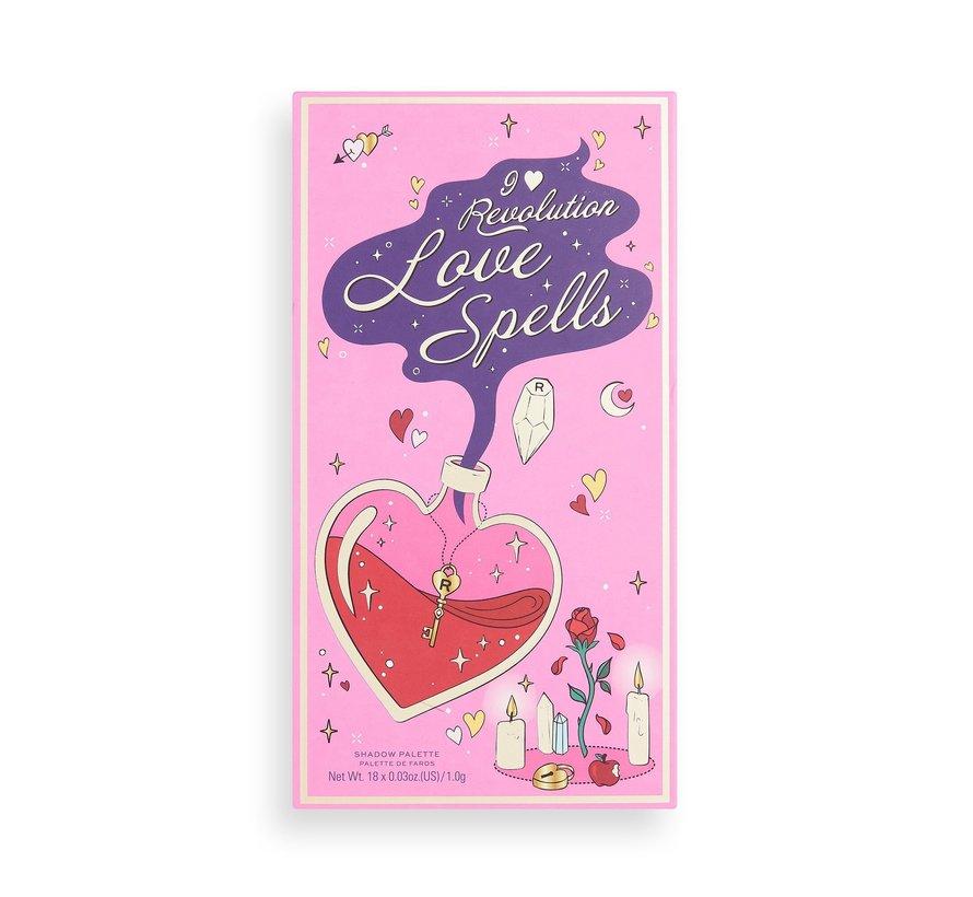 Book of Spells Palette - Love Spells