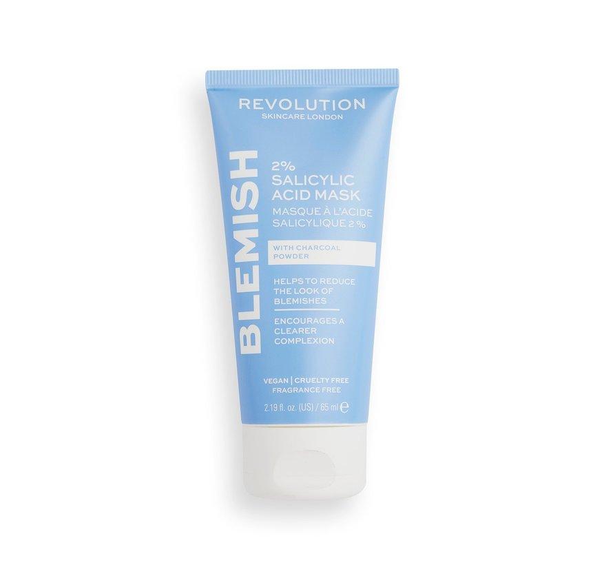 2% Salicylic Acid BHA Anti Blemish Face Mask